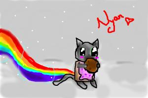 Nyan cat and Cookie Fail