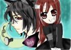{Kaname and Yuki Dress Up!}