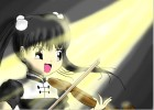 Violinist Girl.