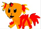 my pokemon starter rugara (fire type)