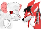 Kitsune (left mouse) and Renard (right fox)