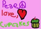 peace,love,cupcakes!