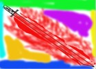colourfull katana