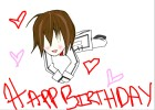 Kaname and I wish you a Happy B-day~