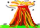Valcano Erupting