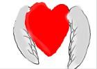 heart of loving wings