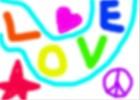 love,peace,fame