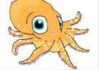 my cartoon octopus