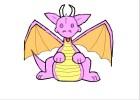 my baby cartoon dragon