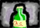 how to draw an apple cider bottle