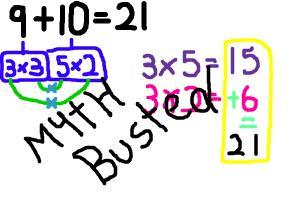 9+10=21, MYTH BUSTED