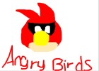 Angry Birds Space Red Bird