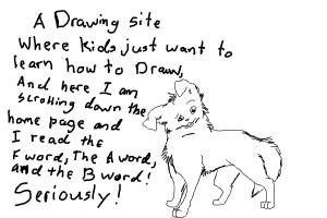 A drawing site for kids