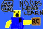 A Noob Never Learns Roblox Death