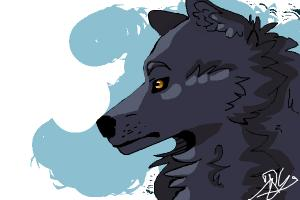 A Wolf at school