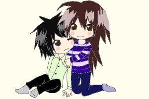 Adorable Chibi Hug