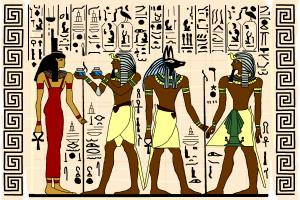 Ancient Egyptiant art