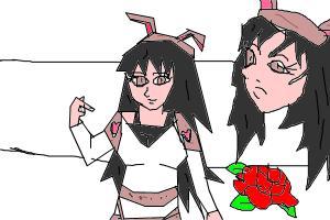 anime girl katdee off of my book