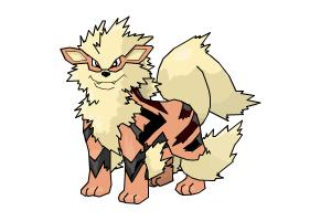 Arcanine from Pokemon