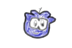 baby crystal blue puffle
