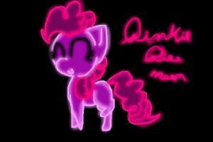 Baby Pinkie Pie Chibi Neon