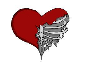 broken and torn heart
