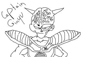 Captain Ginyu Requested by dbzkid23