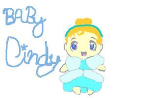 Chibi Baby Cinderella