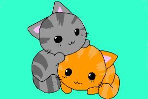 Chibi Cats XD