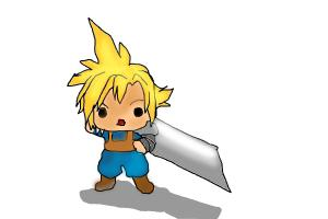 Chibi Cloud Strife
