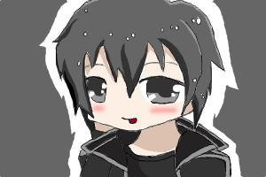 Chibi Kirito >_<