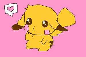 Chibi Pikachu