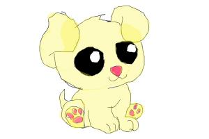 chibi puppy