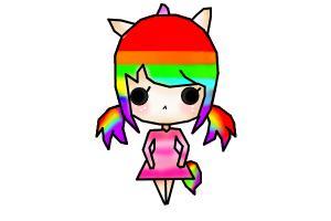 Chibi Rainbow :3