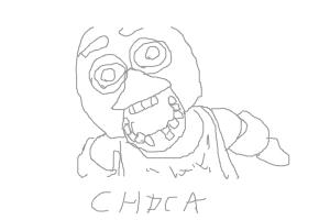 chica from five nights at freddys