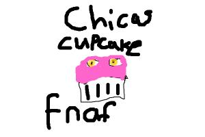 chicas cupcake from 5 nights at freddies