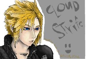 Cloud Strife from FFVII