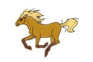 Crappy horse lol