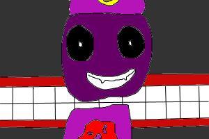 """""""Derpy"""" Purple Guy"""