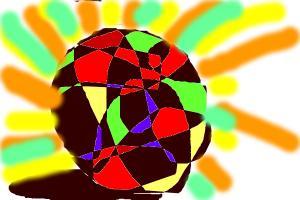 Disco dancing ball