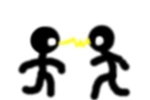 (DIY) How To Draw 2 Angry Stickmen