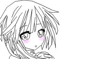 Drawing a cute anime avatar