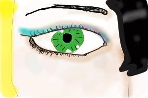 Drawing a funny looking eye