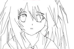drawing hatsune miku - mangá