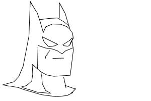 Easy Batman Drawing