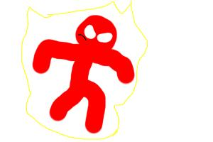 (easy how to draw herobrine stick figure)