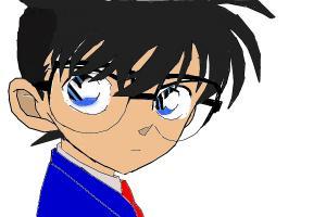 Edogawa Conan (1st Drawing)