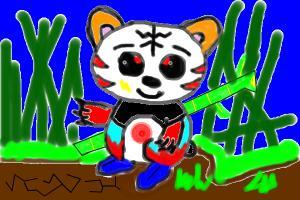 fighter panda