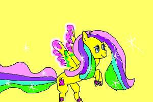 Fluttershy Rainbow Power