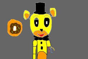 fnaf Golden Freddy